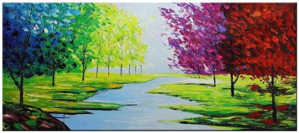 landschap modern schilderij