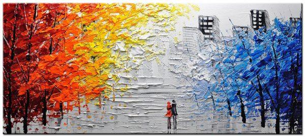 modern groot schilderij