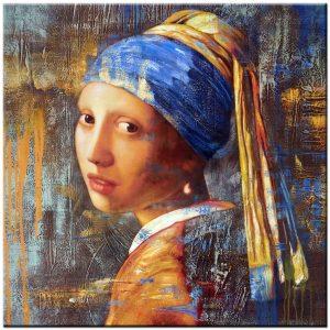 meisje met de parel schilderij