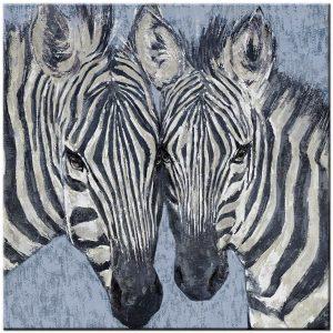 zebra modern schilderij