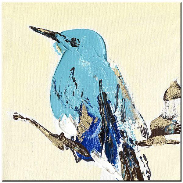 vogel schilderij