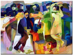 figuratief modern schilderij