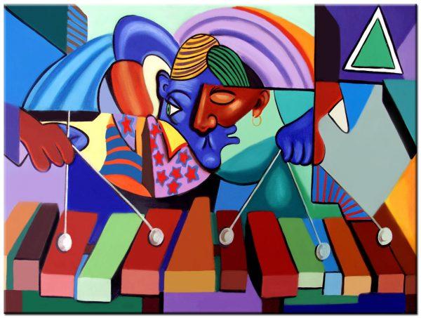 xylofoon schilderij