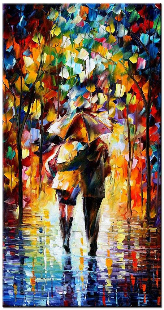 romantisch modern schilderij