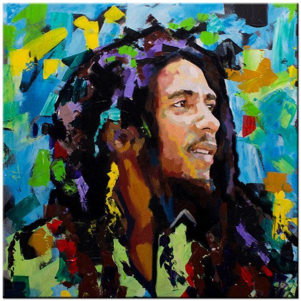 Bob Marley schilderij