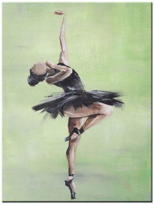 ballerina modern schilderij