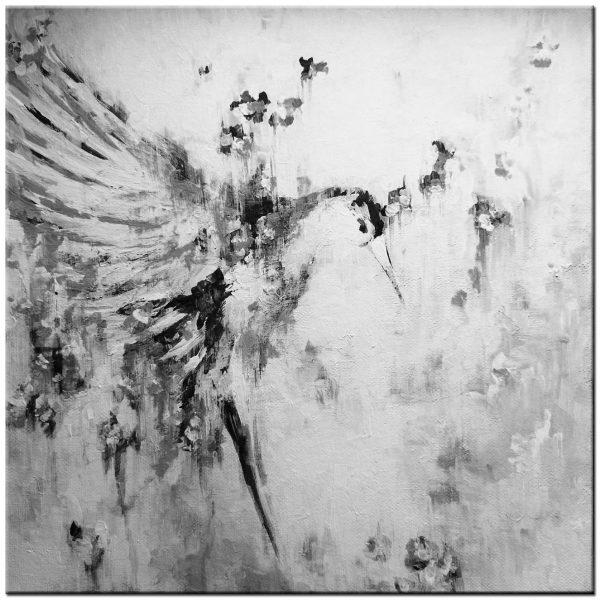 kolibrie modern schilderij