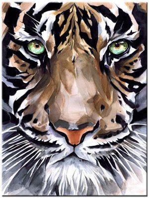 tijger modern schilderij