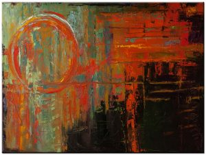 abstract modern schilderij