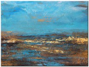 pacific blue schilderij