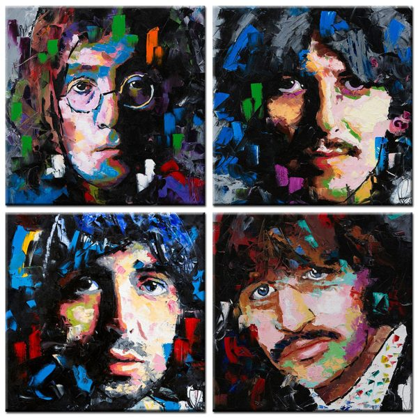 the beatles schilderij