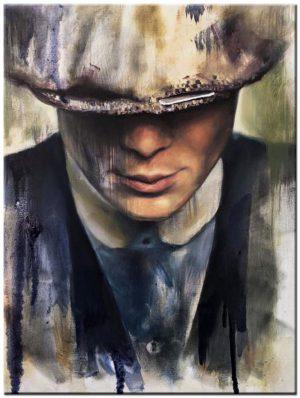 peaky blinders schilderij