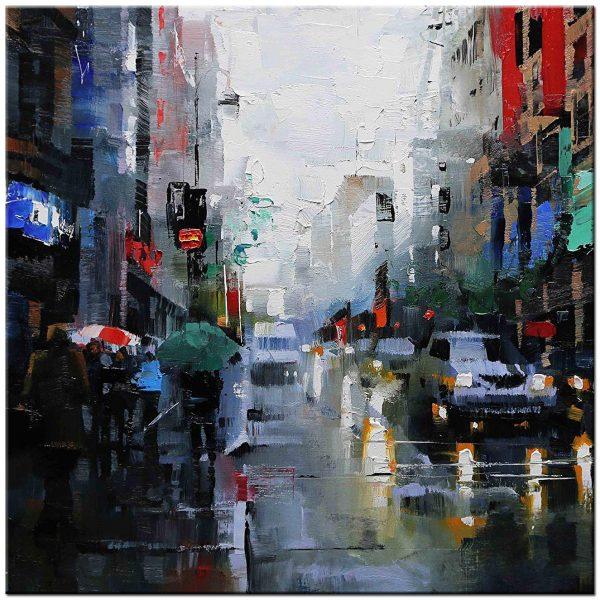Londen modern schilderij