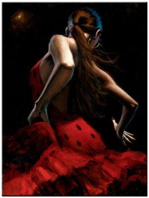 Flamenco schilderij