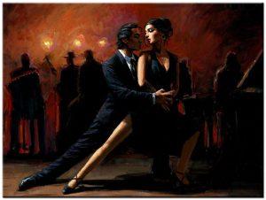 tango dans schilderij