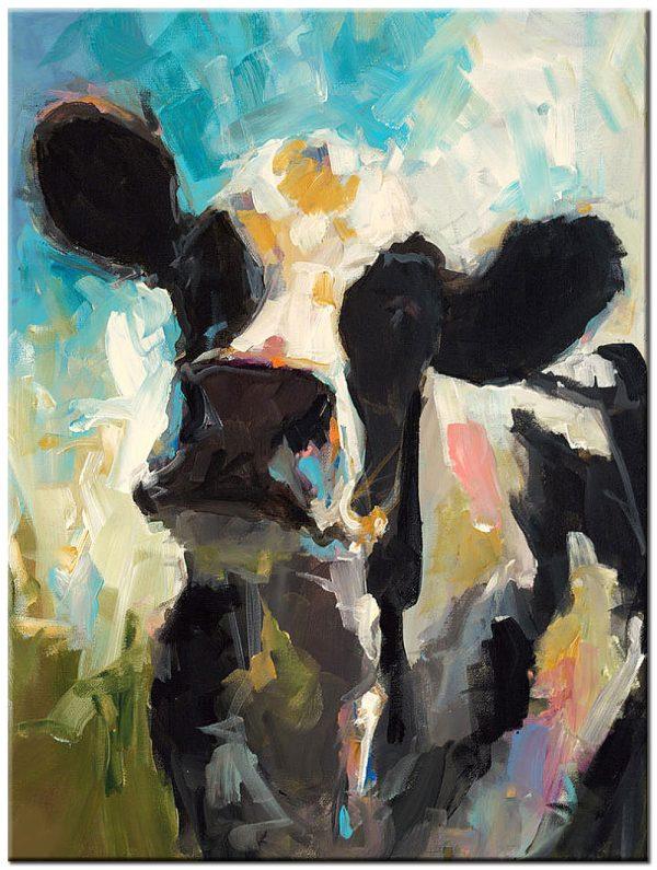 koe modern schilderij