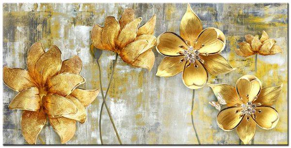 bloemen XXL schilderij