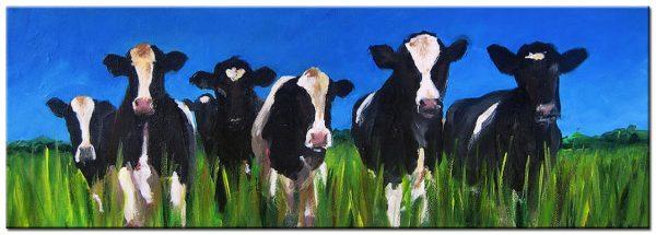 koeien modern schilderij