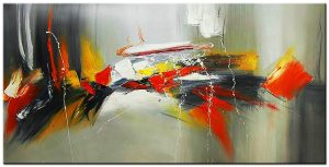 XXL Schilderij modern abstract