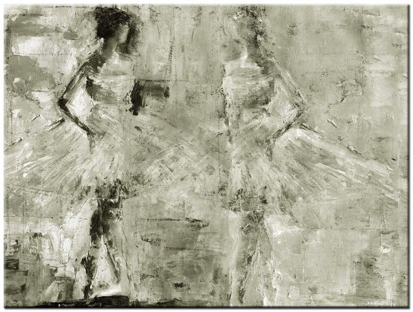 dans modern schilderij