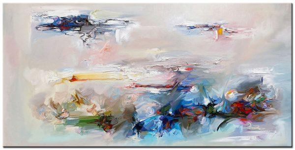 abstract modern schilderij