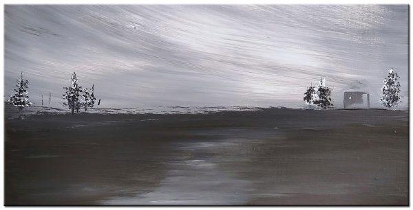 landschap modern groot schilderij
