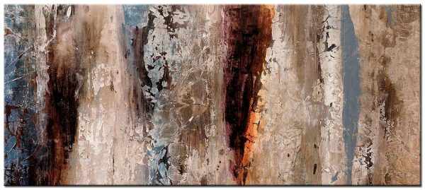 abstract modern groot schilderij