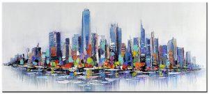new york modern schilderij