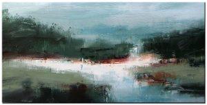 landschap modern groot XXL schilderij