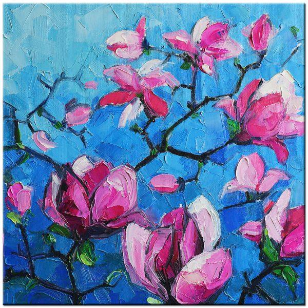 bloemen modern schilderij