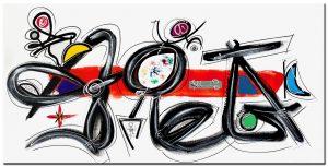 abstract modern groot XXL schilderij