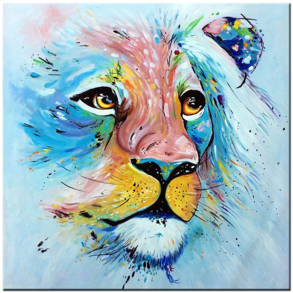 tijger olieverf schilderij