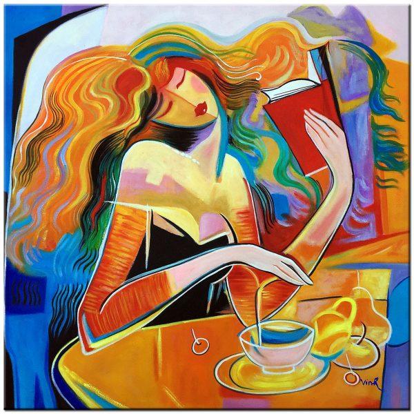 figuratief olieverf schilderij