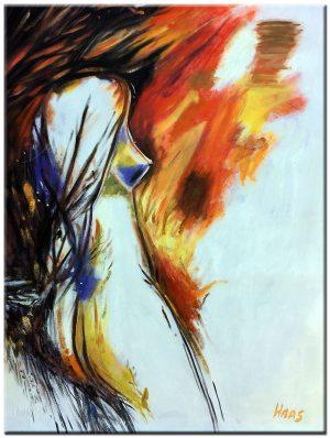 erotisch olieverf schilderij